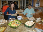 Thanksgiving dinner with Carl & Regina Thyberg