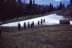 Whee - a glacier - July 2, 1952