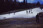 Summer snowball fight - Apache Peak